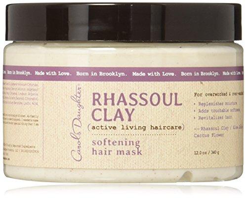 Carols Daughter Rhassoul Clay Softening Hair Mask, 12 Ounce