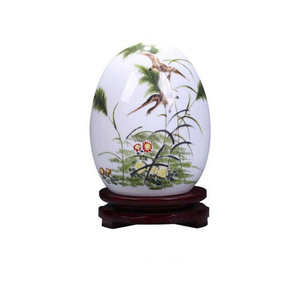 陶磁器の装飾品、景徳鎮のワインキャビネットの装飾、現代中国のリビングルームのポーチの家の装飾、工芸品の装飾、利用可能な様々なスタイル (PATTERN : E) B07SNTSZPN  E