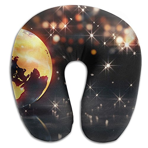 Laurel Neck Pillow Earth Background Loop Animation Travel