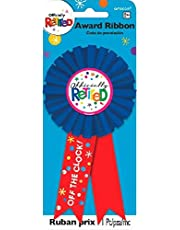 amscan 210381 15 cm Retirement Award Ribbon
