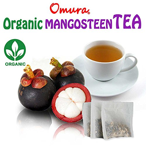 OMURA NATURAL MANGOSTEEN Peel Herbal Tea, the richest nutrient and antioxidant fruits (Pack of 20) Review