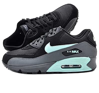 new product f4047 708a7 Nike Air Max 90 Essential Black Mint Candy (537384-030) (12 D