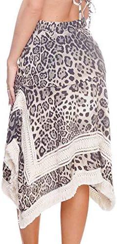 Despi Cheetah Black SQ Skirt