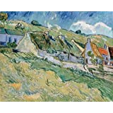 Canvas Prints Of Oil Painting ' Village ' , 8 x 10 inch / 20 x 25 cm , High Quality Polyster Canvas Is For Gifts And Foyer, Game Room And Gym Decoration, wholesale