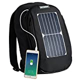 Best Portable & Gadgets Laptop Backpacks - Laptop Backpack with 7W Waterproof Solar Panel Charger Review