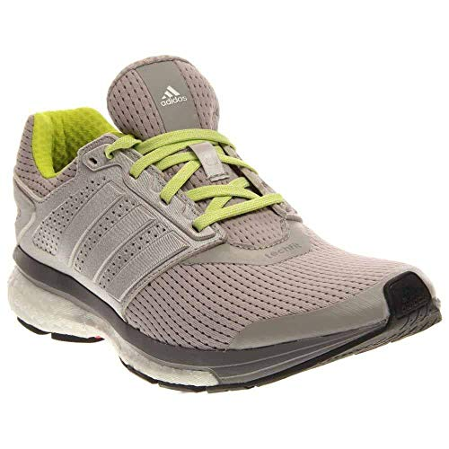 Women's adidas Supernova Glide 7 Running Shoes - Color: Light Grey Heather - Size: 11