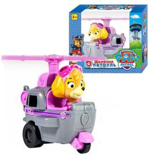 New Paw Patrol Pup Dog Racer Character Figure Kids Children's Toy Gift (skye)