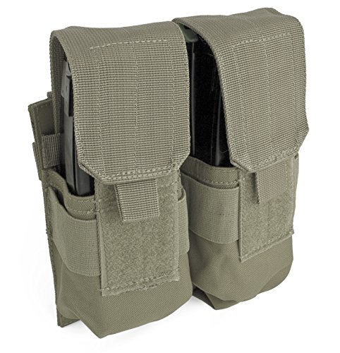 Red Rock Outdoor Gear Double Rifle Mag Pouch, Olive Drab ()