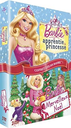 new lifestyle later buying new Barbie - Merveilleux Noël + Barbie apprentie princesse ...