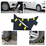 RELIANCER 2 Pack Wheel Chocks Heavy Duty Extra