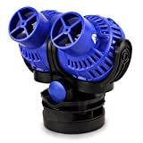FREESEA Aquarium Wave Maker 2 Power Head Circulation Pump with Magnet Suction Base for Fish Tank(8 Watts 1585GPH)