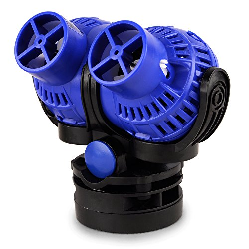FREESEA Aquarium Wave Maker 2 Power Head Circulation Pump with Magnet Suction Base for Fish Tank(8 Watts 1585GPH) by FREESEA