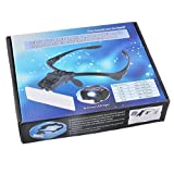 Best Headband Magnifiers - HOUSWEETY Professional Jeweler's Lighted Magnifier Visor with Tweezers Review