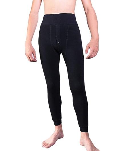 GladiolusA Hombre Invierno Pantalones Térmicos Elasticos Terciopelo Espesar Leggins