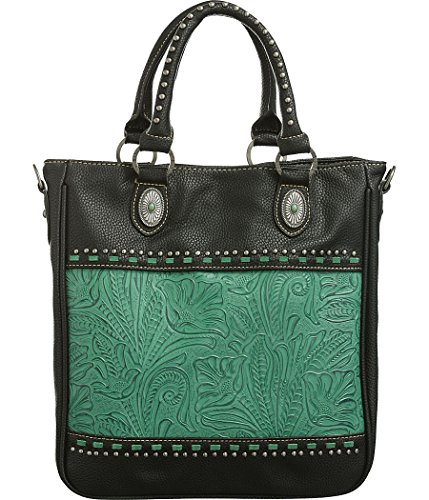 trinity-ranch-floral-tooling-mini-studs-black-gun-conceal-carry-tote-handbags