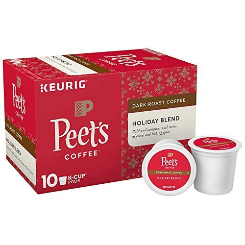 (Peet's Coffee Holiday Blend K-Cup Pack, 10 Count)