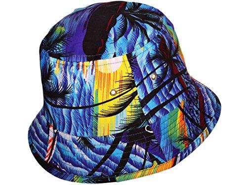 ec3b0cef0f6 BK Caps Hawaii Bucket Hats Caps (Dark Blue
