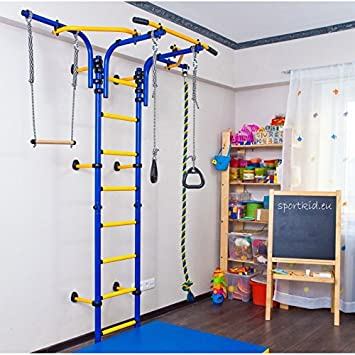 Indoor Swing Set, Comet Next 2, Blue, Indoor Climber, Sportkid, Indoor