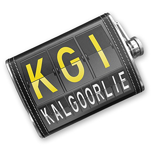 8oz-flask-stitched-kgi-airport-code-for-kalgoorlie-stainless-steel-neonblond