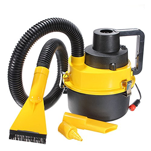 (Hitommy Portable Wet and Dry Car Vacuum Cleaner Auto Hoover Air Pump 12V)