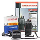 BAOFENG BF-888S UHF FM Transceiver High Illumination Flashlight Walkie Talkie Two-Way Radio, Outdoor Stuffs