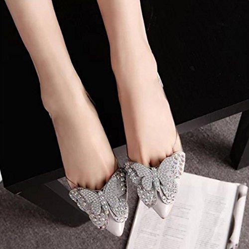 flache niet hunpta sandalen sommer sandalen grau bequeme schuhe mode ballerinas frauen 5FqqpnPwX