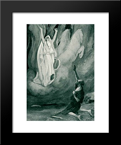 Elijah carried away into heaven by a chariot of fire 20x24 Framed Art Print by James Tissot