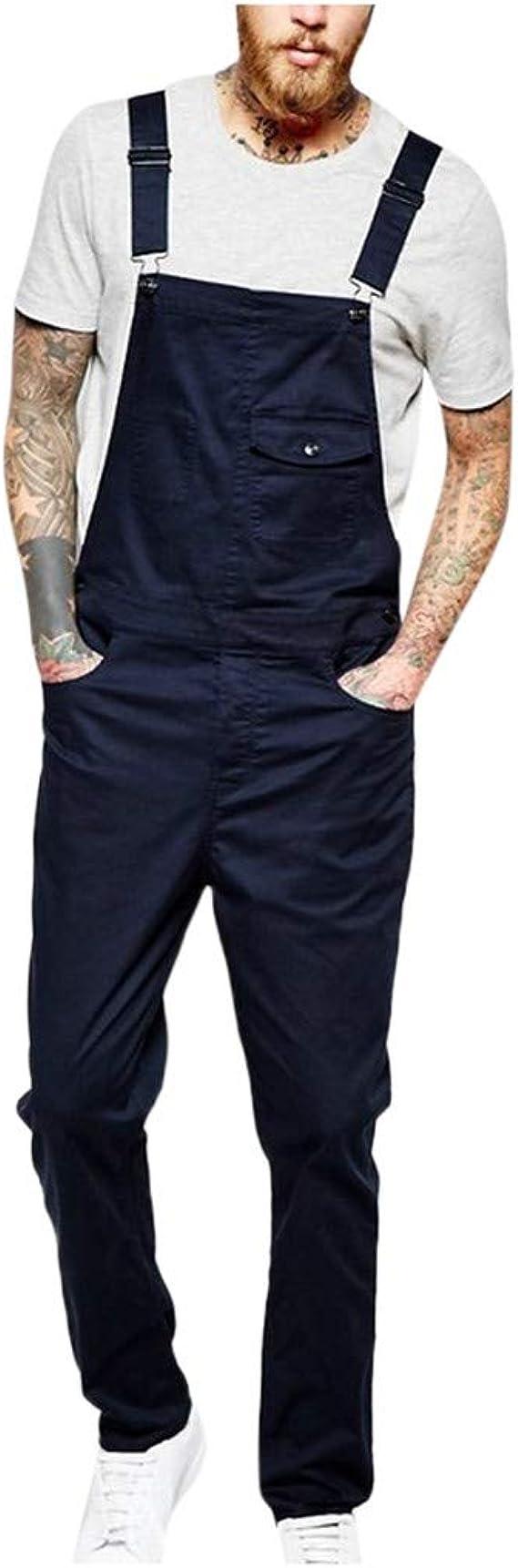 Pantal/ón Chandal Mujer Mono Jumpsuit Casual Pantalones con Cord/ón Peto Vaquero Mono de Jeans Suelto para se/ñora Talla Grande Estampado de Camuflaje STRIR