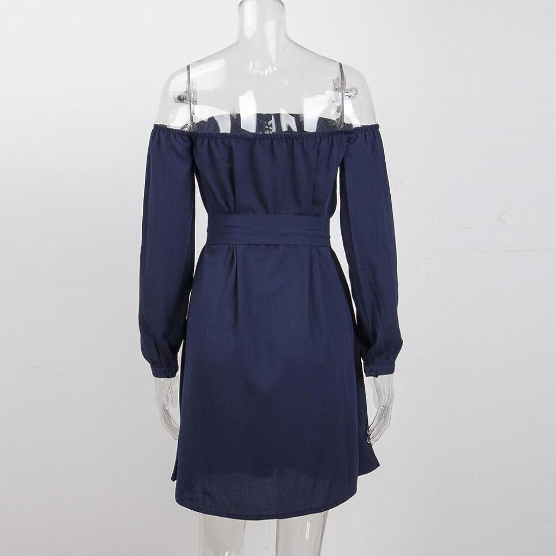 Kleid Damen Elegant Btruely Mädchen Trägerlos Partykleid Lose ...
