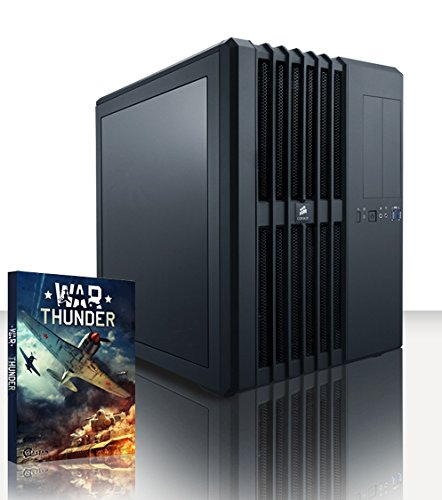 143 opinioni per Vibox Legend 21 Gaming PC con Gioco War Thunder, 4.4GHz Intel i7 Quad Core