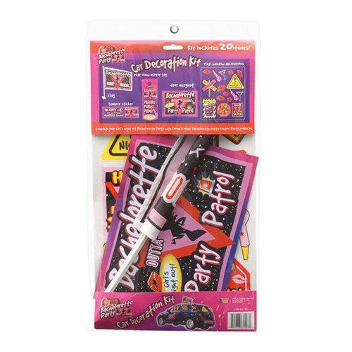 Forum Novelties Bachelorette Party Favors Car Decoration Kit (20 Count) by Forum Novelties