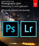 cover of Adobe Creative Cloud Photography plan (Photoshop CC + Lightroom) Prepaid Membership 12 Month (Download)