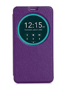 IVSO Asus Zenfone 2 (ZE551ML/ZE550 ML) 5.5-Inch Smartphone Case - Slim and High quality Protective Cover Case for Asus Zenfone 2 (ZE551 ML /ZE550 ML) 5.5-Inch Smartphone (Shiny Case Series - Purple), [Importado de UK]