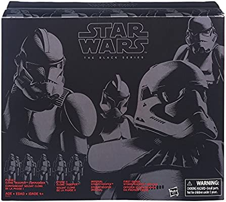 Star Wars The Black Series 6 Inch Imperial Forces 4 Pack Protective Display Case