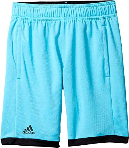 adidas Boys Tennis Court Shorts, Samba Blue/White, X-Large