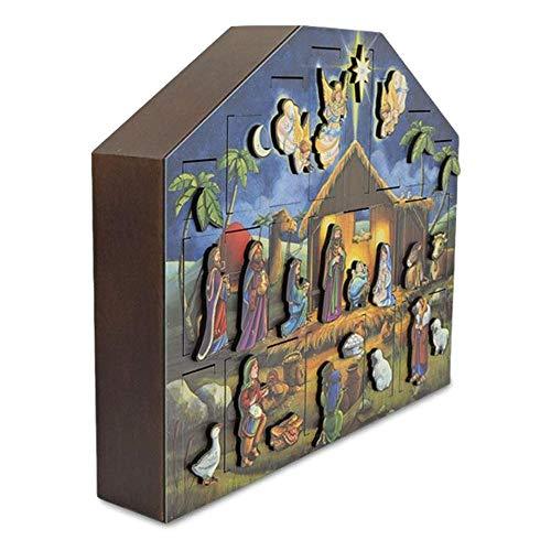 Byers' Choice Nativity Musical Advent Calendar #MC05 by Byers' Choice (Image #3)