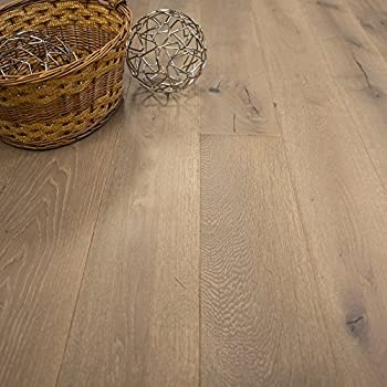 Wide Plank 7 12 X 12 European French Oak Riverstone Prefinished