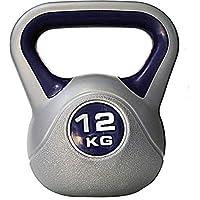 Sportbay Kettlebell - 12 kg - Grijs