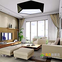 Geometric Ceiling/Living Room Lamp/Modern Simple LED Lights/Creative Study Lamp Bedroom-A