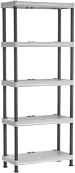 MAURER 21030300 Modulo Estanteria Resina 70x35x172 cm