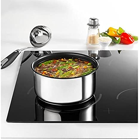 a7beb7272afd97 TEFAL INGENIO PREFERENCE Batterie de cuisine 8 pieces L9409802 18-20-22-24-28cm  Tous feux dont induction inox  Amazon.fr  Cuisine   Maison