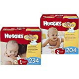 Huggies Little Snugglers Diapers, Economy Plus Pa