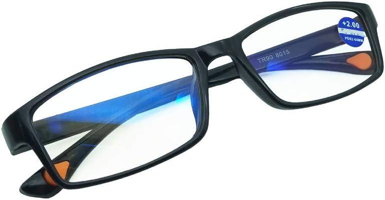 Embryform Lunettes de Lecture Lunettes de Vue Homme Femme Reading Glasses,+2.5