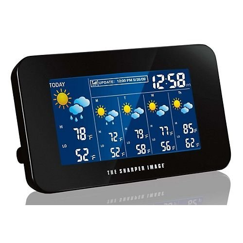 (Sharper Image Wireless Internet Weather Station, Model# EC-WS115)