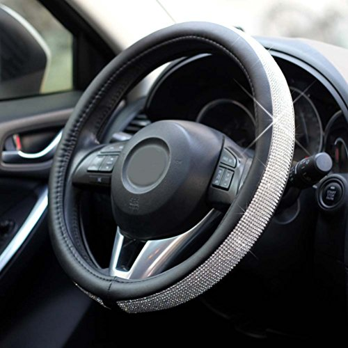 steering wheel cover crystal - 7