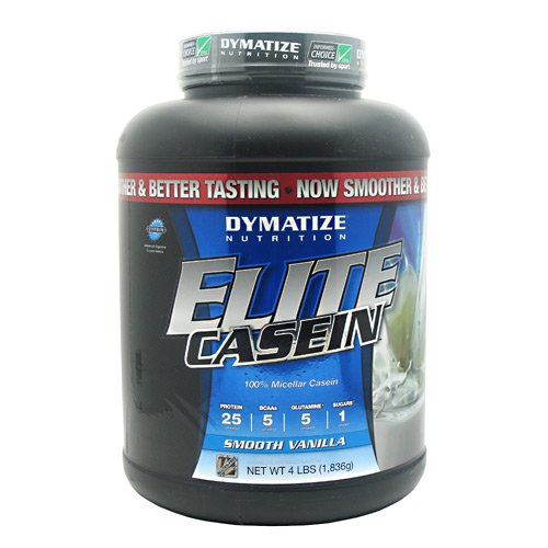 dymatize elite casein smooth vanilla