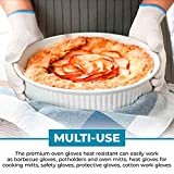 Heat-Resistant Cooking Gloves For Indoor And