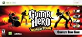 Xbox 360 Guitar Hero World Tour Band Bundle