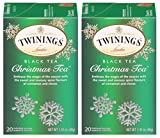 Twinings Christmas Tea - 20 count (2 PK) packaging may vary