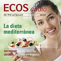 ECOS audio - La dieta mediterránea. 7/2013